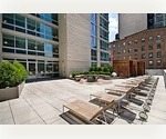 MIDTOWN WEST. CLINTON. LARGE ONE BEDROOM ONE BATH. ROOFTOP.GYM.FULL TIME DOORMAN. $3,715