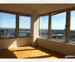 One bedroom-Financial District- with TERRACE-high ceilings, wood floors, amazing modern building!